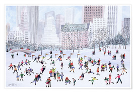 Poster Skating Rink, Central Park, New York, 1994