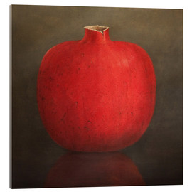 Acrylic glass  Pomegranate - Lincoln Seligman