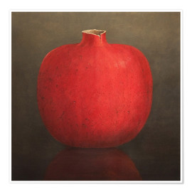 Poster  Pomegranate - Lincoln Seligman