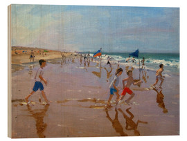 Wood  Flags and reflections, Montalivet - Andrew Macara