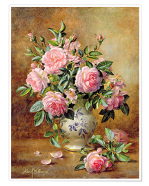 Albert Williams - A Medley of Pink Roses