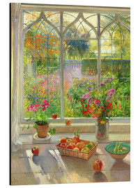 Alu-Dibond  Overlooking the garden - Timothy Easton