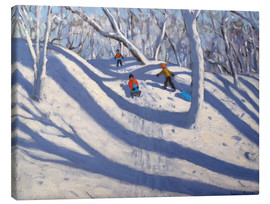 Canvas print  Winter in Bramcote, Nottingham - Andrew Macara