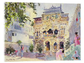 Acrylic print  House on the Hill, Bombay - Lucy Willis