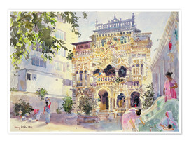 Premium poster  House on the Hill, Bombay - Lucy Willis