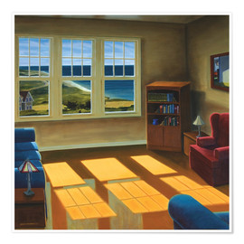 Poster  Apartment By The Sea - David Arsenault