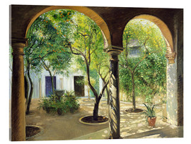 Acrylic glass  Vianna Palace, Cordoba - Timothy Easton