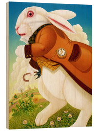 Wood  The White Rabbit - Frances Broomfield