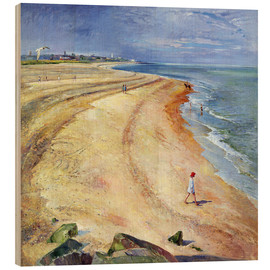 Wood  Beach of Southwold - Timothy Easton