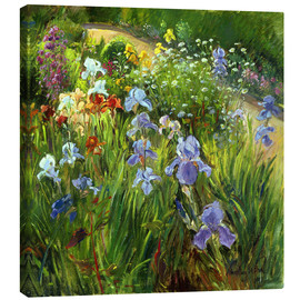 Canvas  Flower bed - Timothy Easton