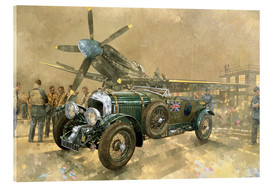 Acrylic print  Bentley and Spitfire - Peter Miller
