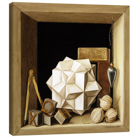 Canvas print  Geometry, 2004 - Jenny Barron