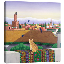 Canvas print  Rooftops in Marrakech - Larry Smart