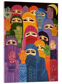 Acrylic print  The Hands of Fatima, 1989 - Laila Shawa