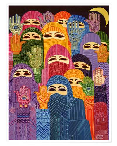 Poster The Hands of Fatima, 1989
