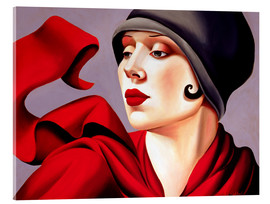 Acrylic glass  Autumn Zephyr - Catherine Abel