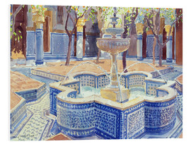 Forex  The blue fountain - Lucy Willis