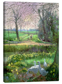Canvas print  Spring Walk - Timothy Easton