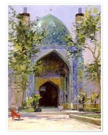 Premium poster  Chanbagh Madrasses, Isfahan - Bob Brown