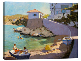 Canvas print  Fishing Nets, Samos - Andrew Macara