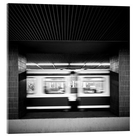 Acrylic print  Rush hour Munich - Richard Grando