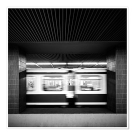 Poster  Rush hour Munich - Richard Grando