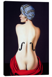Canvas print  Homage to Man Ray - Catherine Abel