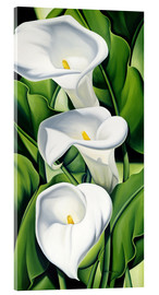 Acrylic glass  Lily - Catherine Abel