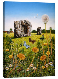 Canvas print  Landscape of Avebury - Frances Broomfield