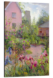 Alu-Dibond  Herb Garden at Noon - Timothy Easton