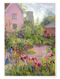 Premium poster  Herb Garden at Noon - Timothy Easton
