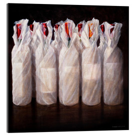 Lincoln Seligman - Wrapped Wine Bottles