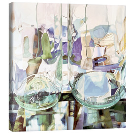 Canvas print  Green transparency - Jeremy Annett