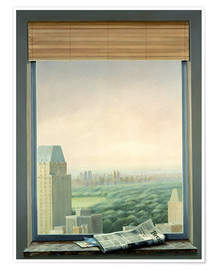 Premium poster  New York Central Park - Lincoln Seligman