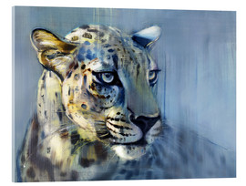 Acrylic glass  Leopard, Profile - Mark Adlington