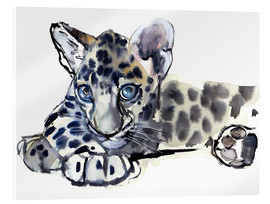 Acrylic glass  Little Leopard - Mark Adlington