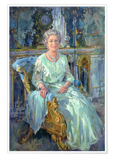 Premium poster Her Majesty the Queen, 1996