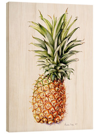 Wood print  Pineapple, 1997 - Alison Cooper