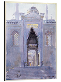 Aluminium print  Gateway to The Blue Mosque - Lucy Willis