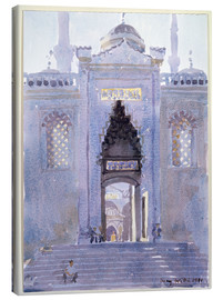 Canvas  Gateway to The Blue Mosque - Lucy Willis