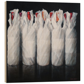 Wood  White Wrapped Wine - Lincoln Seligman