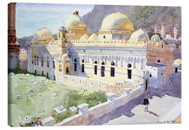 Canvas print  Mosque, Taiz, Yemen - Lucy Willis
