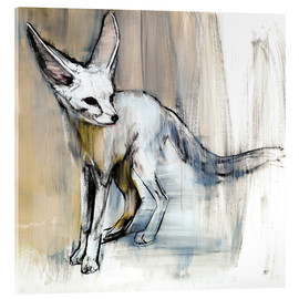 Acrylic glass  Desert Fox - Mark Adlington