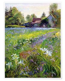 Poster  Cottage in the country - Timothy Easton