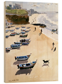 Wood  Boats on the Beach - Lucy Willis