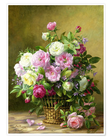 Premium poster  Roses - Albert Williams