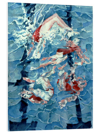 Foam board print  Synchronised Swimming - Gareth Lloyd Ball