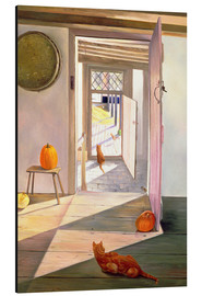 Aluminium print  Cats in the house - Timothy Easton