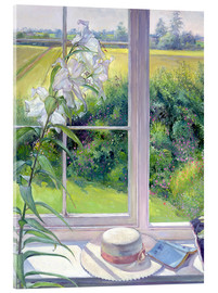 Acrylic print  Reading corner in the window, detail - Timothy Easton