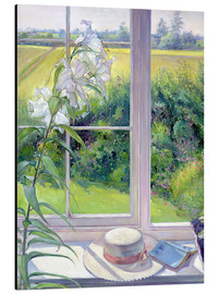 Alu-Dibond  Reading corner in the window, detail - Timothy Easton